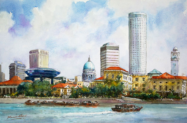Singapore_Riverbank
