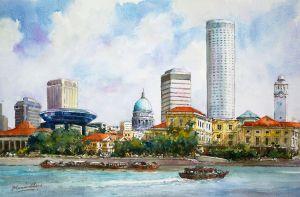 Singapore Riverbank