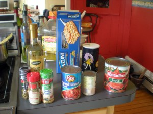 lasagna ingredients