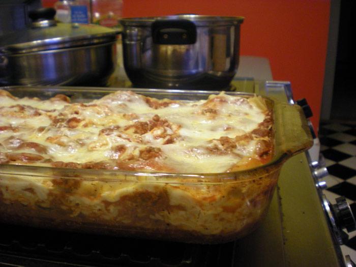 Lasagna, yay