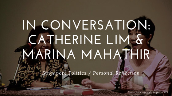 In Conversation — Catherine Lim and Marina Mahathir (2012)