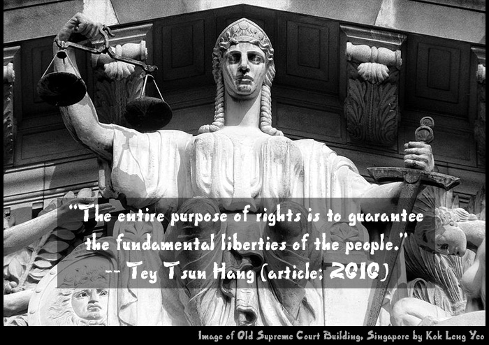 """Excerpts from """"Scandalising the Singapore Judiciary"""""""