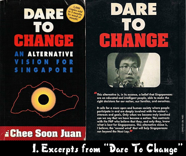 "Excerpts from ""Dare to Change"""