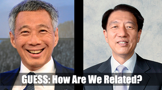 Teo Chee Hean – Related to Lee Hsien Loong?
