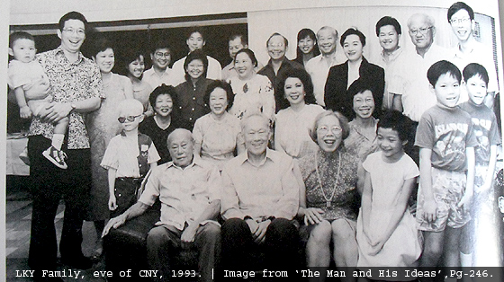 All in the FamiLee (LKY family tree)