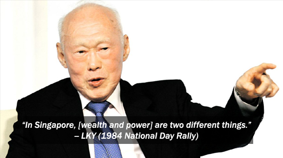 Lee Kuan Yew: On Ministers' Salaries