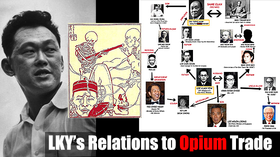 LKY's Relations to Opium Trade