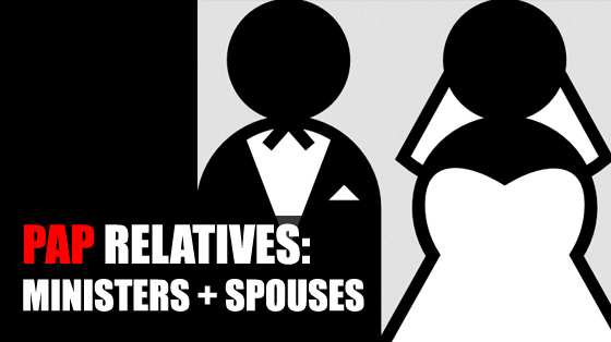 Ministers and Spouses