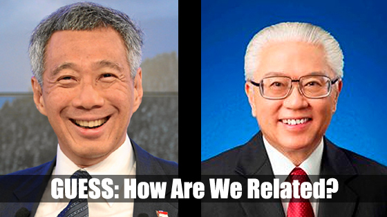 Tony Tan – Related to Lee Hsien Loong?