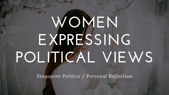 Women Expressing Political Views