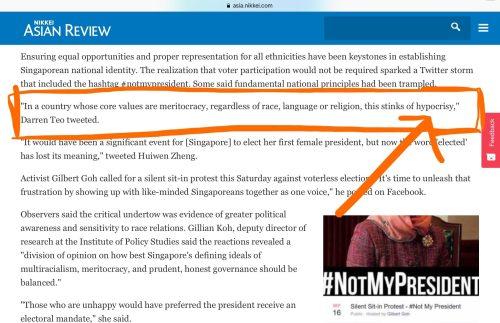 hypocrisy_singapore_president